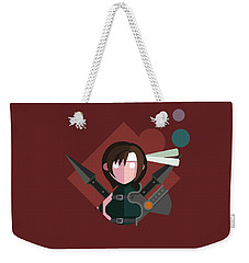 Yuffie Weekender Tote Bag by Michael Myers