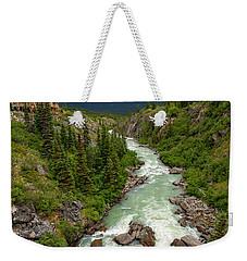 Yukon River Weekender Tote Bag