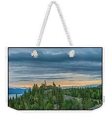 Yukon Sunrise Weekender Tote Bag