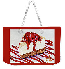 Weekender Tote Bag featuring the painting Yumminess by Jackie Carpenter