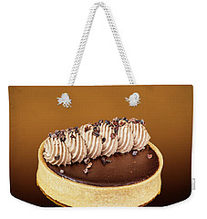 Yummy Mocha Weekender Tote Bag by Shirley Mangini