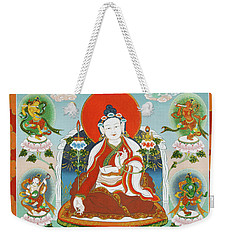 Yuthok Bumseng With Retinue Weekender Tote Bag by Sergey Noskov