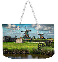 Zaanse Schans And Farm Weekender Tote Bag