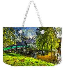 Zaanse Schans Weekender Tote Bag by Eva Lechner