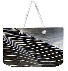 Weekender Tote Bag featuring the photograph Zahner Facade by Christopher McKenzie