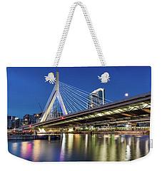 Zakim Bridge And Charles River Weekender Tote Bag