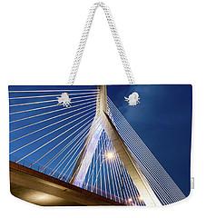 Zakim Bridge Upclose Weekender Tote Bag