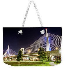 Zakim Bridge Weekender Tote Bag