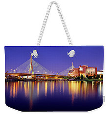 Zakim Twilight Weekender Tote Bag by Rick Berk