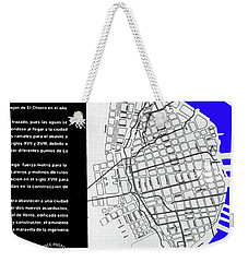 Zanja Real Map Weekender Tote Bag