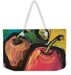 Zany Apples Weekender Tote Bag