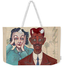Zasu And Him... Weekender Tote Bag