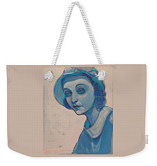 Zasu In Blue Weekender Tote Bag