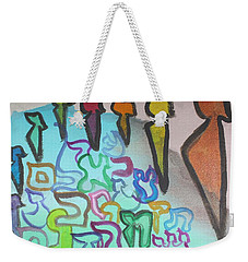 Zayin, Protecting The Tribe Ab24 Weekender Tote Bag
