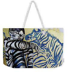 Zebra Boy The Lost Gold Drawing  Weekender Tote Bag