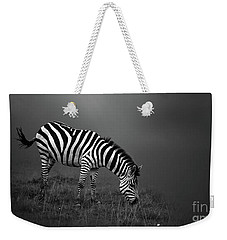 Zebra Weekender Tote Bag by Charuhas Images