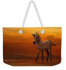 Zebra Fawn  Weekender Tote Bag