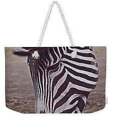 Zebra Head Weekender Tote Bag