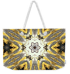 Zebra I Weekender Tote Bag by Maria Watt