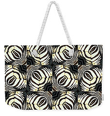 Zebra IIi Weekender Tote Bag by Maria Watt