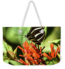 Zebra Longwing No.2 Weekender Tote Bag