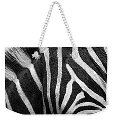 Zebra Stripes Weekender Tote Bag