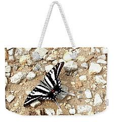 Zebra Swallowtail Weekender Tote Bag