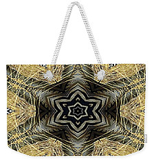 Zebra Vi Weekender Tote Bag by Maria Watt