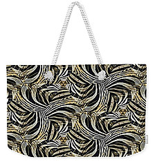Zebra Vii Weekender Tote Bag by Maria Watt