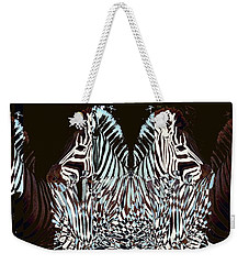 Zebraic Equation Weekender Tote Bag
