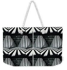 Zebras  Crossing Art Weekender Tote Bag