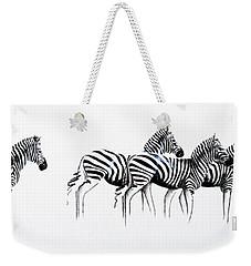 Zebrascape - Original Artwork Weekender Tote Bag