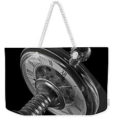 Zeitdruck Time Pressure Weekender Tote Bag