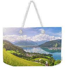 Zell Am See - Alpine Beauty Weekender Tote Bag by JR Photography
