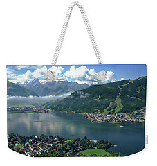 Zell Am See Panorama Weekender Tote Bag