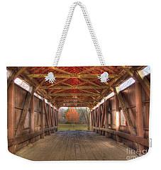 Sycamore Park Covered Bridge Weekender Tote Bag