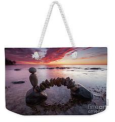 Zen Arch Weekender Tote Bag