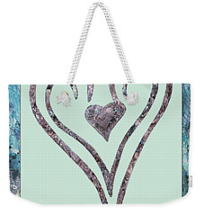 Zen Heart Sedona Labyrinth Weekender Tote Bag