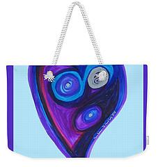 Zen Heart Vortex Weekender Tote Bag