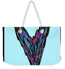 Zen Hearts In Betweens Weekender Tote Bag