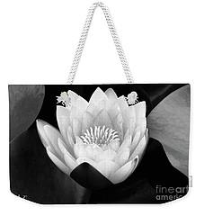 Waterlily Rising Weekender Tote Bag