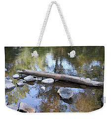 Zen Scene 1 Weekender Tote Bag by Ellen Tully