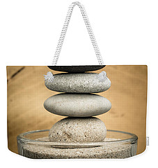 Zen Stones I Weekender Tote Bag by Marco Oliveira
