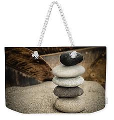Zen Stones IIi Weekender Tote Bag by Marco Oliveira