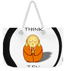 Zen Symbol With Buddha Weekender Tote Bag
