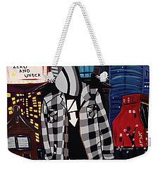 Zero And Under Goes To Tokyo Weekender Tote Bag