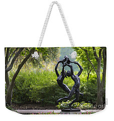 Weekender Tote Bag featuring the photograph Zerogee by Andrea Silies
