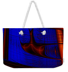 Weekender Tote Bag featuring the digital art Zestbackle by Andrew Kotlinski