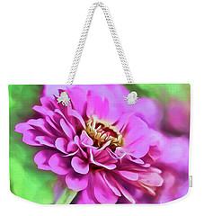 Zinnia Art 2 Weekender Tote Bag