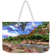 Zion At Daybreak Weekender Tote Bag
